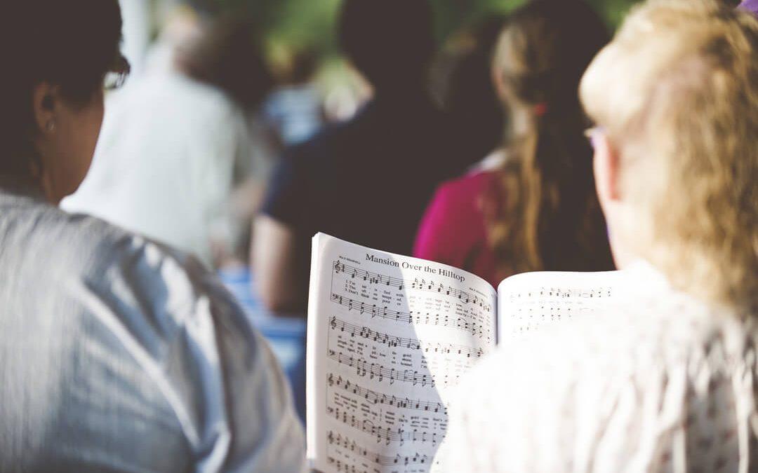 Outdoor Church Sing Along